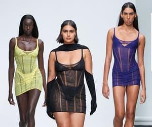 fashion week, mugler, and runway image