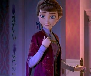 animation, anna, and disney image