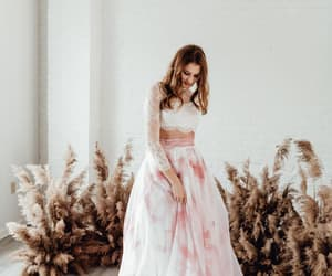 etsy, maxi skirt, and color wedding dress image
