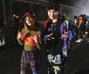 bts, jhope, and becky g image