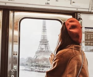 autumn, france, and outfit image