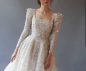 bridal, dress, and fashion image