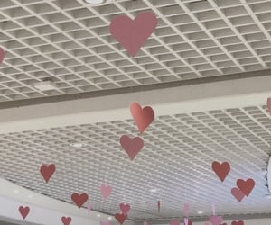 aesthetic, hearts, and pink image