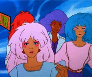 80s, gif, and jem and the holograms image