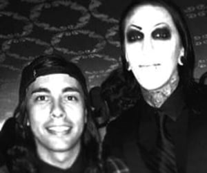 pierce the veil, chris motionless, and miw image