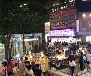 asia, city, and south korea image