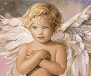 angel, wings, and cute image