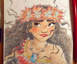 disney, princesas disney, and moana image