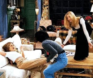 90s, Courteney Cox, and Jennifer Aniston image