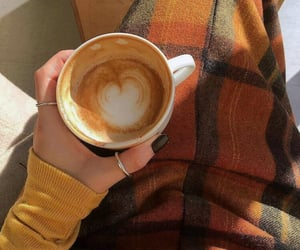 autumn, coffee, and inspiration image