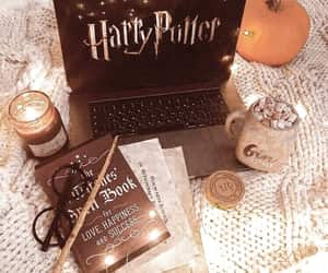 harry potter, book, and autumn image