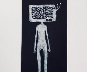 anorexia, protest, and art image
