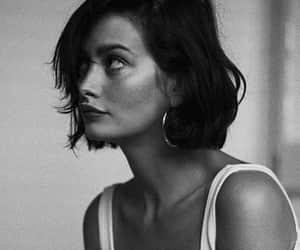 girl, short hair, and beauty image