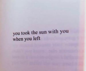 quotes, sun, and love image