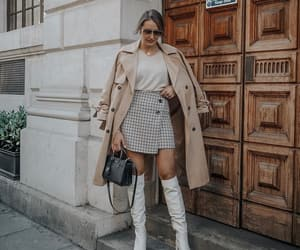 accesories, mini skirt, and outfit image