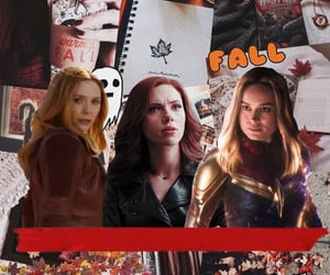 autumn, fall, and girl power image