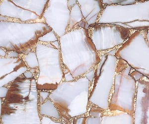 gold, aesthetic, and marble image