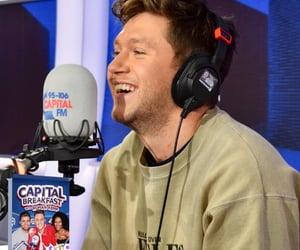 interview, niall horan, and radio image