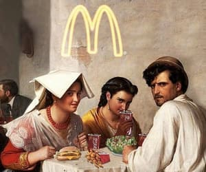 art, interrupt, and mc donalds image