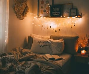 cozy, bedroom, and decoration image