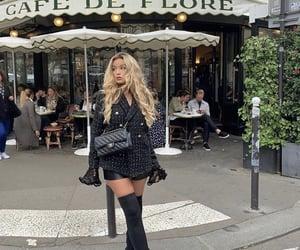 cafe de flore, fashion, and paris image