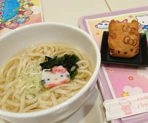 food, hello kitty, and japanese image