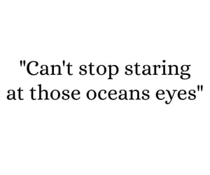song, words, and ocean eyes image