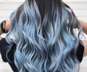 black-blue hair color image