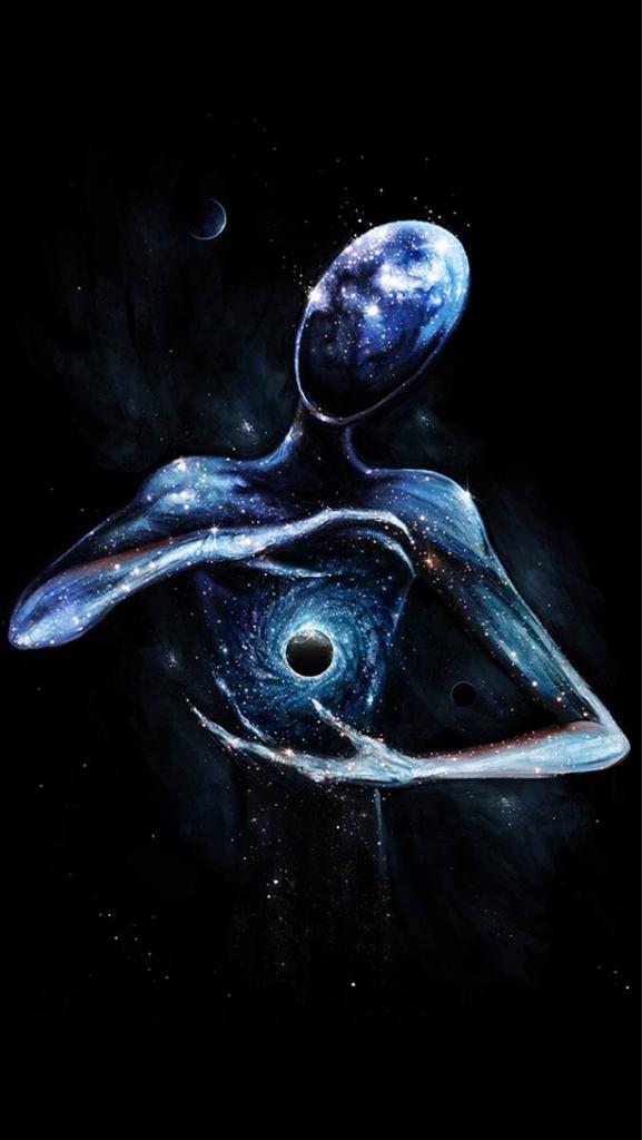 aliens, believe, and cosmos image