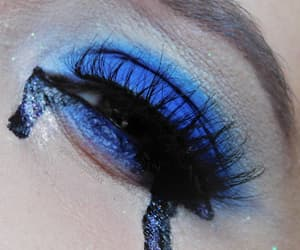 aesthetic, blue, and eye image