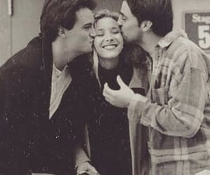 chandler, phoebe, and friends image