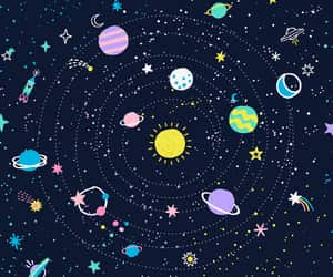 background, cosmic, and etsy image