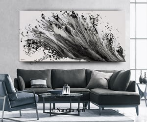 Abstract Painting, etsy, and modern art image