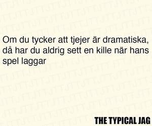 funny, svenska, and roligt image