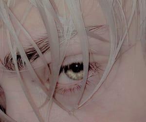 albino, green eyes, and boy image