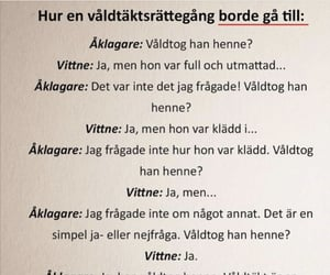 feminism, feminist, and svenska image