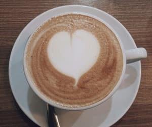 cappuccino, vsco, and coffee image