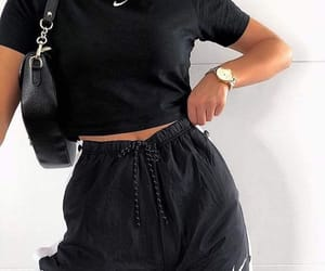 clothes, fashion, and black image