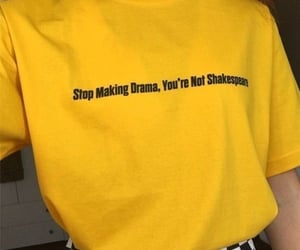yellow, aesthetic, and drama image