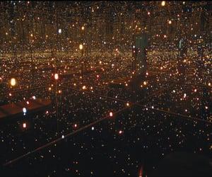 light, art, and fireflies image
