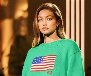 america, american, and beautiful woman image