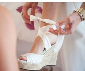 comfy, wedges, and white image