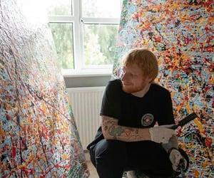 paint, teddy, and ed sheeran image