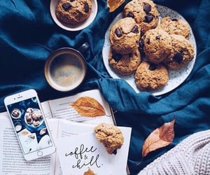 Cookies, autumn, and coffee image
