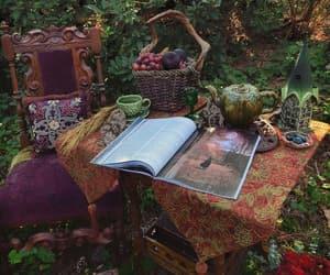 autumn, mystic, and pumpkins image