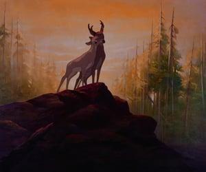 disney, bambi, and love image
