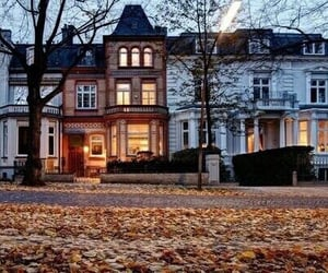 autumn, Houses, and travel image