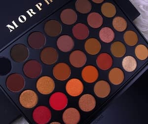 beauty, makeup, and morphe image