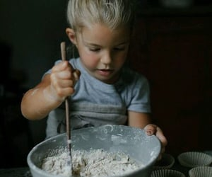 baby, baking, and cute image