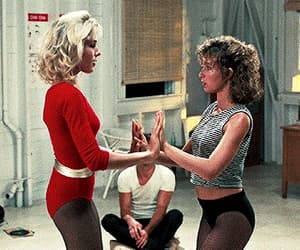 baby, dancing, and jennifer grey image